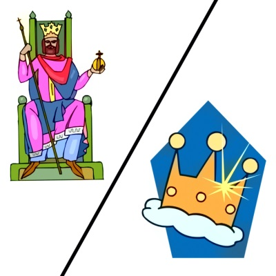Now behold the king clipart clipart royalty free stock Kingdom of Heaven vs. Kingdom of God - The Doctrinal Difference clipart royalty free stock