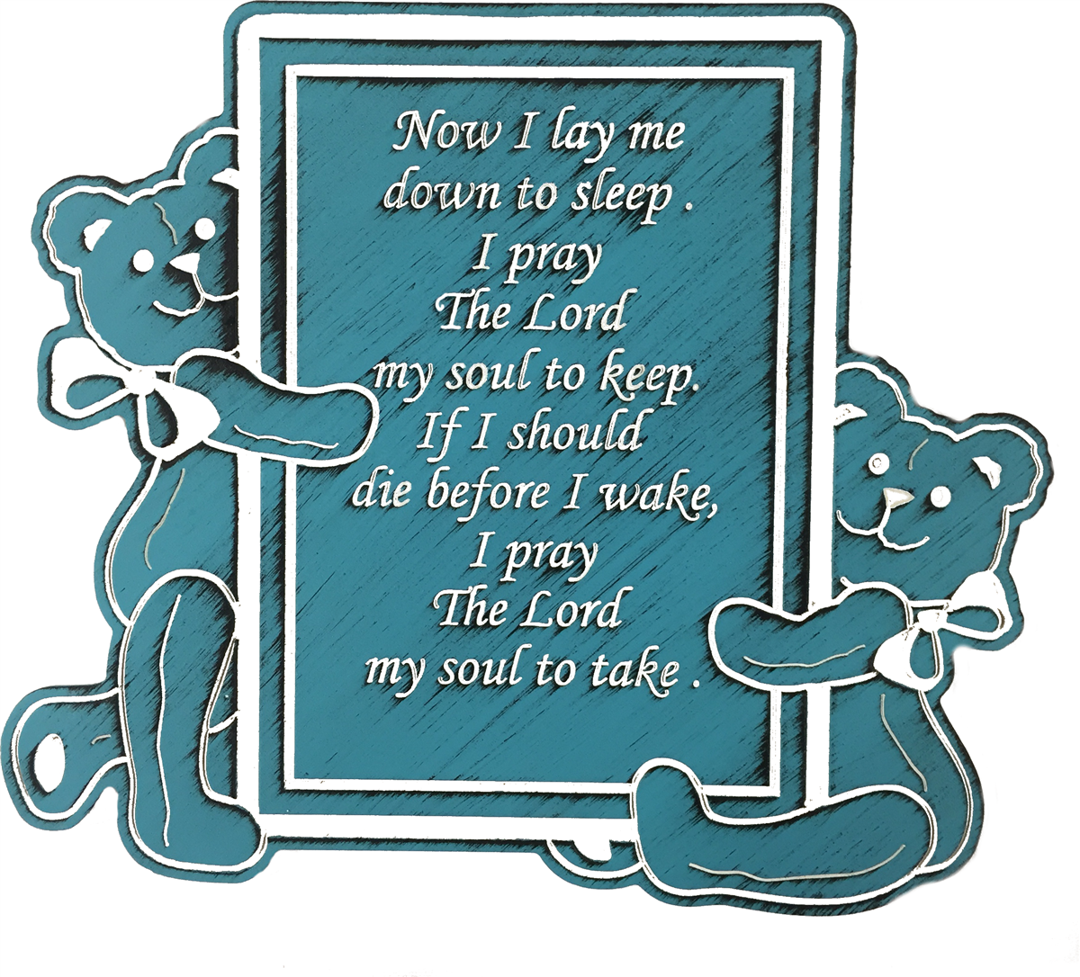 Now i lay me down to sleep clipart graphic Plaque ~ Child\'s Prayer-Now I Lay Me Down To Sleep... graphic