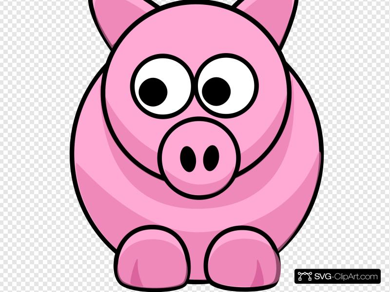 Nsp clipart royalty free Piggy Clip art, Icon and SVG - SVG Clipart royalty free