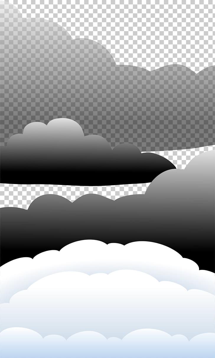 Nubes negras clipart banner royalty free stock Ilustraciones de nubes, pintadas a mano nubes negras y nubes ... banner royalty free stock