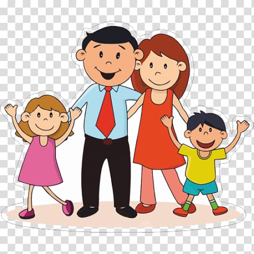 Nuclear family clipart black and white two girls picture transparent library Nuclear family Hindu joint family , Family transparent ... picture transparent library