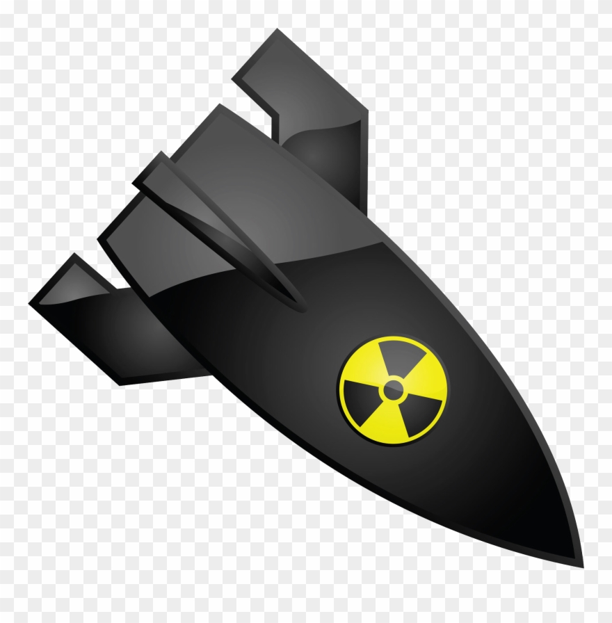 Nuclear missile clipart clip art black and white stock Nuclear Bomb Png - Kaduna Document By Onassis Olori ... clip art black and white stock