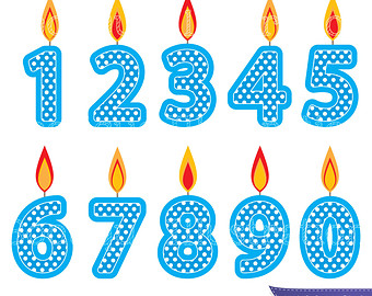 Number 1 candle clipart graphic stock Number 1 Birthday Clipart - Clipart Kid graphic stock