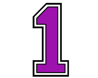 Number 1 clipart svg royalty free Purple Number 1 Cliparts   Free download best Purple Number ... svg royalty free