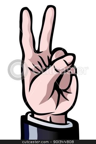 Number 1 finger clipart svg freeuse download Number 2 Fingers Clipart - Clipart Kid svg freeuse download