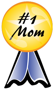 Number 1 ribbon clipart jpg stock 1 Mom jpg stock