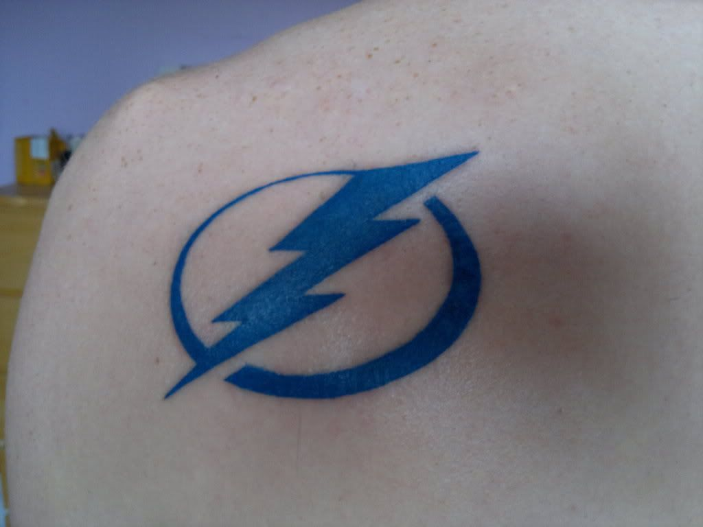 Number 1 tampa bay lightning fan clipart png transparent library lightning sleeve tattoos | Sports-related tattoos - HFBoards ... png transparent library
