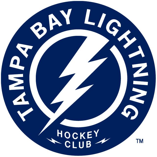Number 1 tampa bay lightning fan clipart png download Tampa Bay Lightning Alternate Logo (2012) - A blue circle ... png download