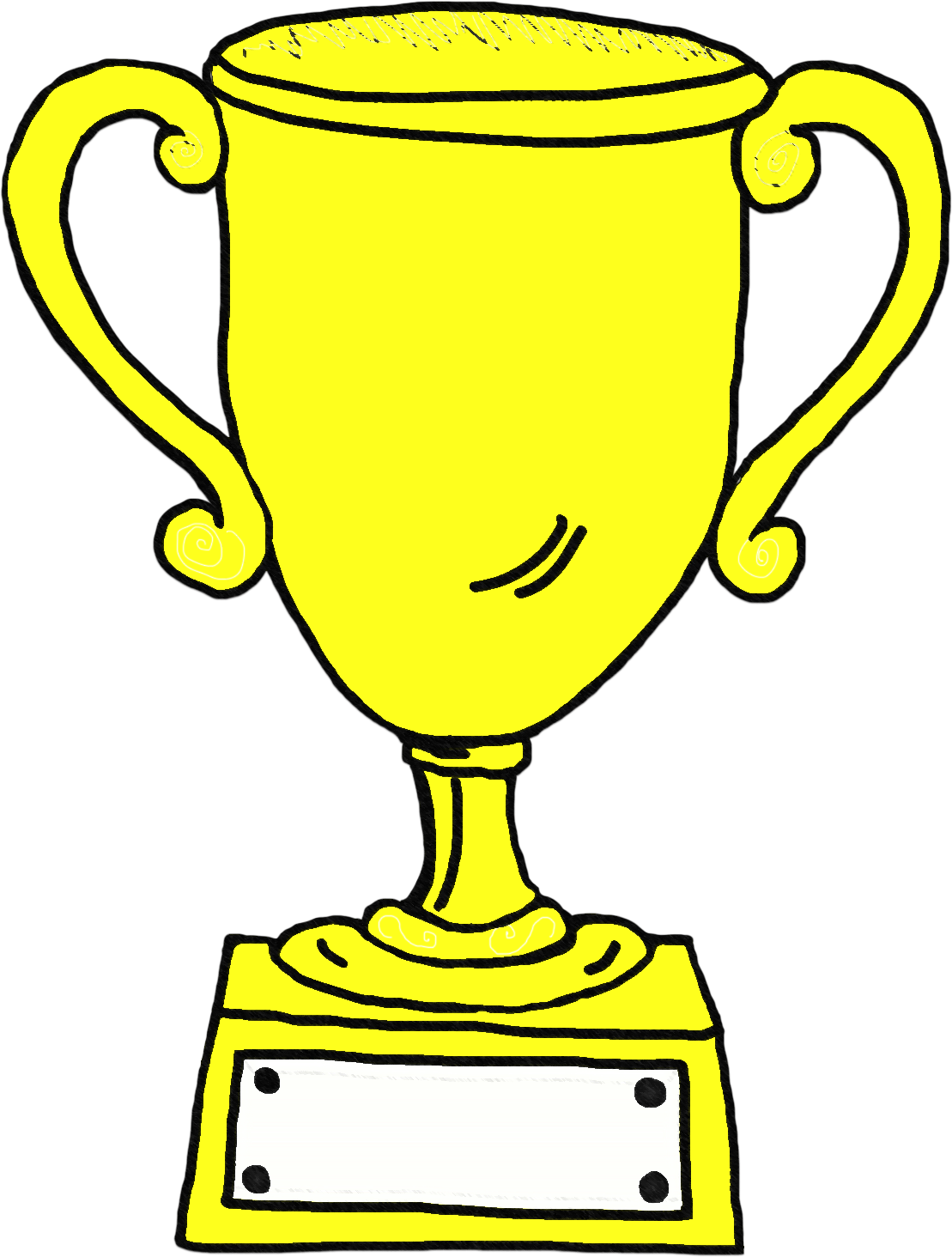 Number 1 trophy clipart graphic free stock Clipart trophy - ClipartFest graphic free stock