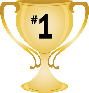 Number 1 trophy clipart image black and white library Number 1 trophy clipart - ClipartFest image black and white library