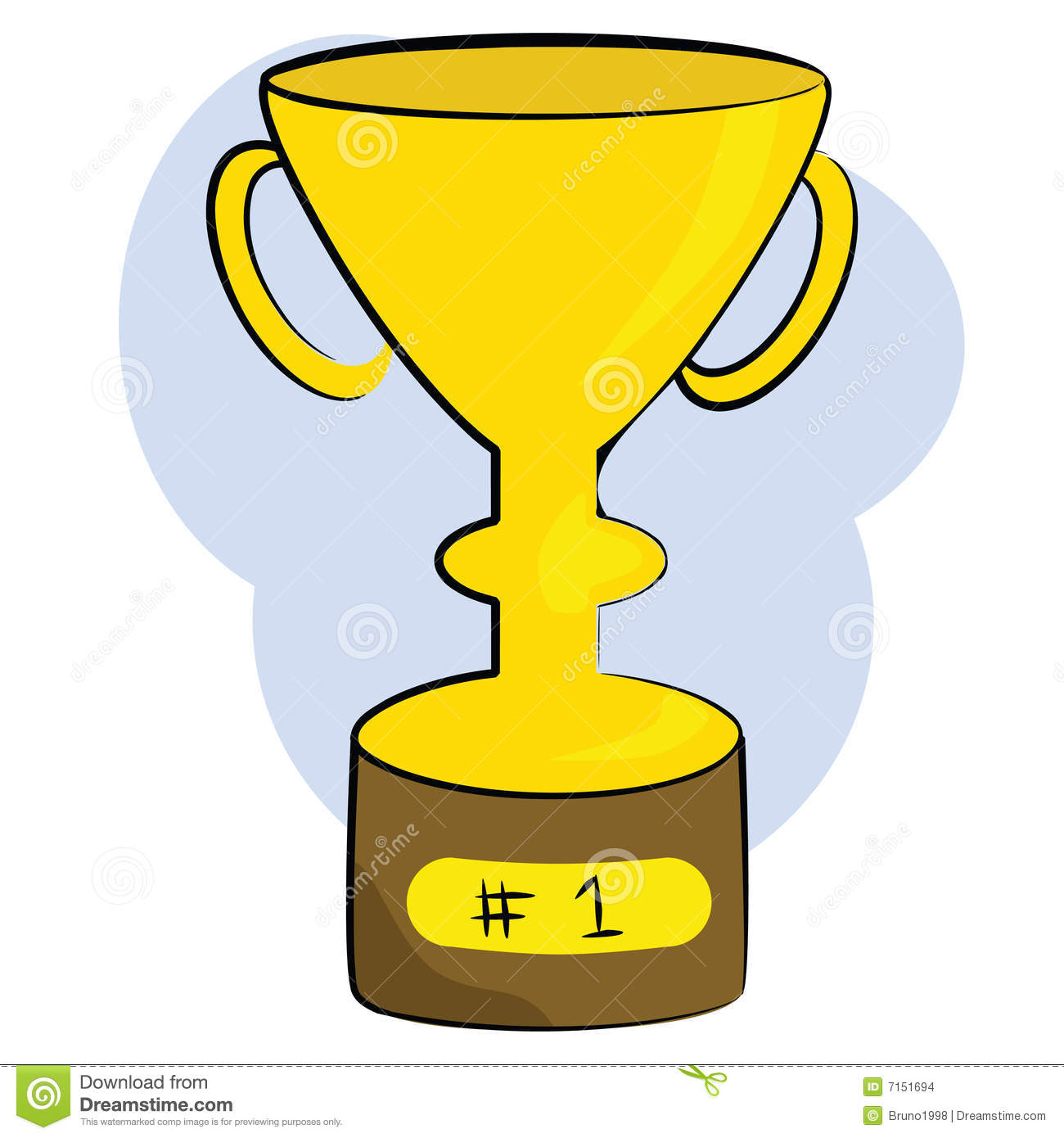 Number 1 trophy clipart clipart royalty free Number 1 Trophy Stock Images - Image: 7151694 clipart royalty free