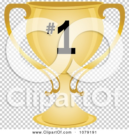 Number 1 trophy clipart banner free library Clipart Gold Number 1 Trophy Cup - Royalty Free Vector ... banner free library