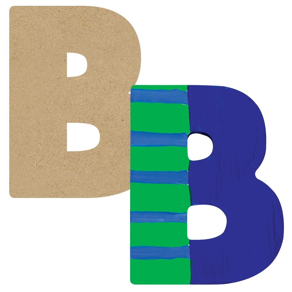 Number 1 wooden letter clipart clip freeuse stock 3D Wooden Letter - CleverPatch clip freeuse stock