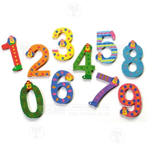Number 1 wooden letter clipart picture black and white download Wooden Clown Numbers - Wooden Numbers - Wooden Letters - Wooden Toys picture black and white download