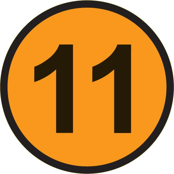 Number 11 clipart graphic freeuse number 11 inside a circle. | Clipart Panda - Free Clipart Images graphic freeuse