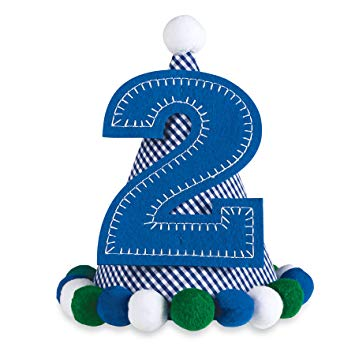 Number 2 birthday clipart for a boy clip free Mud Pie Felt Birthday Party No. 2 Hat for Boy: Amazon.ca: Baby clip free