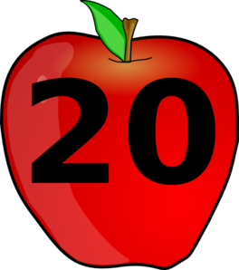 Number 20 clipart image library stock 20 Clipart - Clipart Kid image library stock