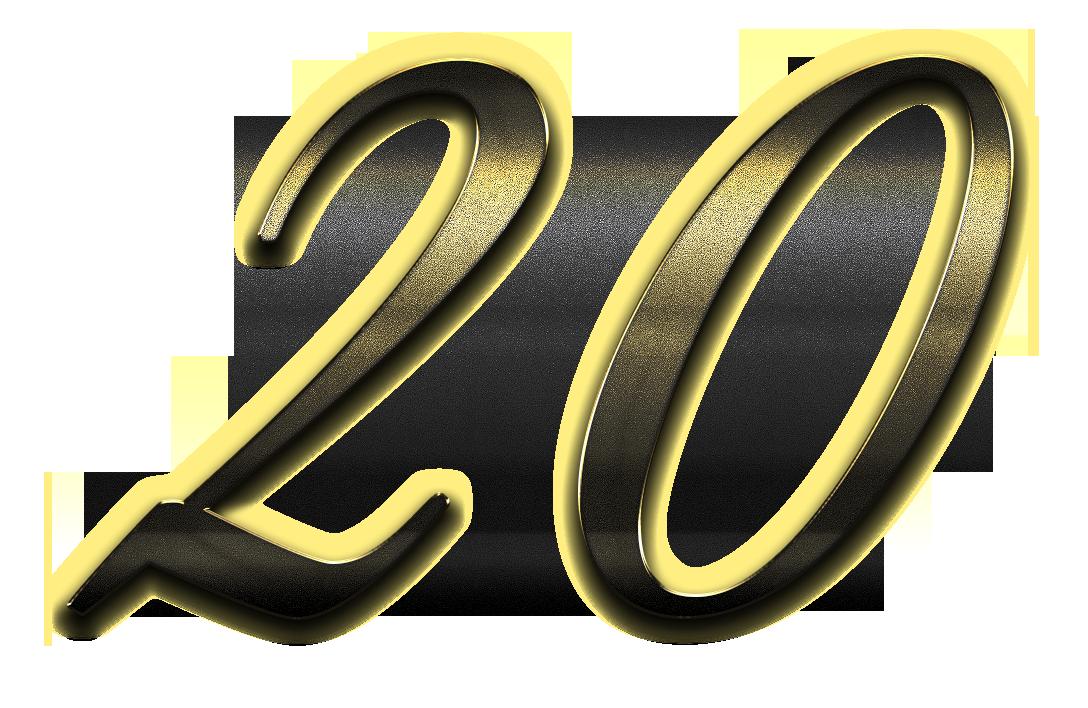 Number 20 clipart svg library download 20 Number Clipart PNG | PNG Names svg library download