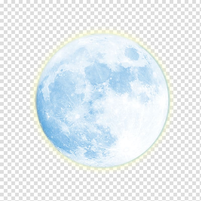 Number 3 blue night clipart transparent background