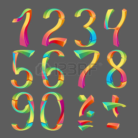 Number 3 design clipart arabic vector black and white download 298 Numerology Stock Vector Illustration And Royalty Free ... vector black and white download