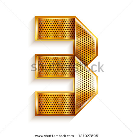 Number 3 design clipart arabic vector free library Gold-numeral Stock Vectors & Vector Clip Art | Shutterstock vector free library