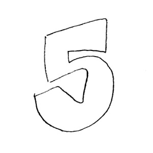 Number 5 clipart black and white picture black and white Free Number 5 Clipart Black And White, Download Free Clip ... picture black and white
