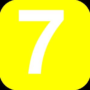 Number 7 clipart download Number 7 Yellow Clip Art at Clker.com - vector clip art ... download