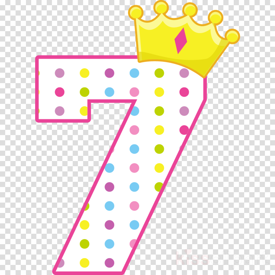 Number 7 clipart clipart royalty free Pink Birthday Cake clipart - Birthday, Number, Gift ... clipart royalty free