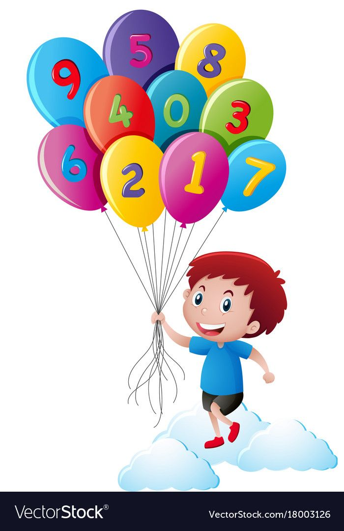 Number balloons clipart svg transparent stock Pin by Spaska Mateva on Цифри | Art wall kids, School ... svg transparent stock