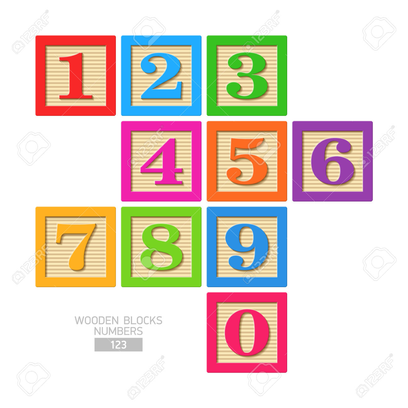 Number block clipart clip freeuse download 10,567 Wooden Block Cliparts, Stock Vector And Royalty Free Wooden ... clip freeuse download