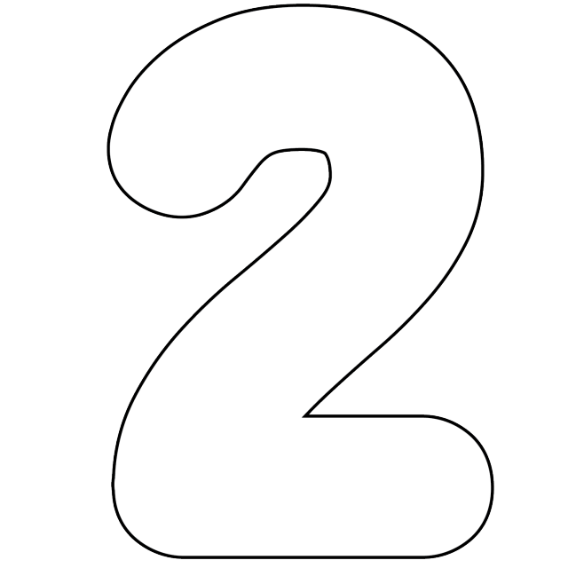 Number clipart 1 banner free stock It's as Easy as 1-2-3 to Use Free Printable Numbers Digital Stamps ... banner free stock
