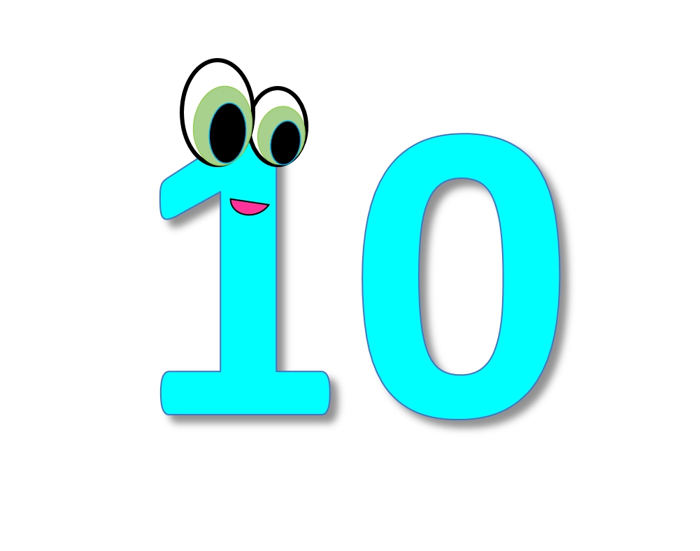 Numbers 1 10 clipart image royalty free Numbers cliparts clipart club 2 - dbclipart.com image royalty free