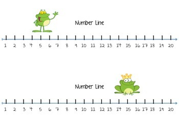 Number line 1 20 clipart freeuse stock 1 To 20 Number Line - Laptuoso freeuse stock