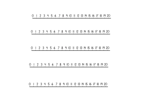 Number line 1 to 20 clipart svg black and white stock Free Worksheets : number line 1-20 Number Line : Number Line 1-20 ... svg black and white stock