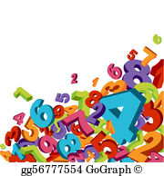 Number vector clipart svg library stock Number Clip Art - Royalty Free - GoGraph svg library stock