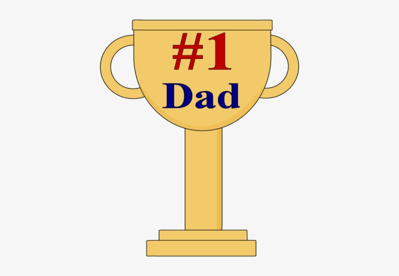 Number1 dad clipart png library library Fathers Day Clipart, - Number 1 Dad Trophy PNG Image ... png library library