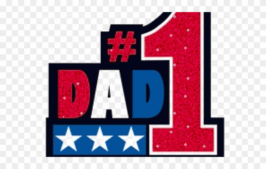 Number1 dad clipart clip download Fathers Day Clipart Happy Birthday Dad - Usa Number 1 - Png ... clip download
