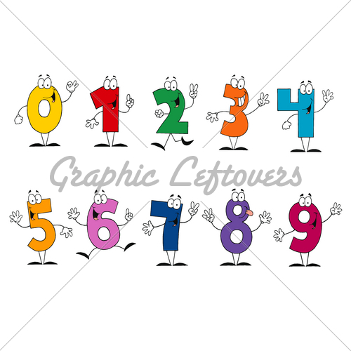 Numbers 1 10 clipart banner transparent stock 1 10 Clipart - Clipart Kid banner transparent stock