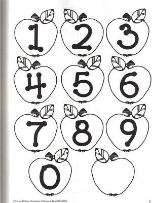 Numbers 1 10 clipart black and white clip stock 17 Best images about Flash cards on Pinterest | Printable numbers ... clip stock