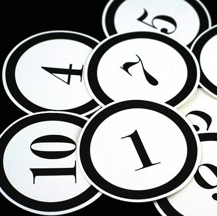 Numbers 1 10 clipart black and white vector transparent library Number 10 Black Black And White Numbers 1 10 #JLoFou - Clipart Kid vector transparent library