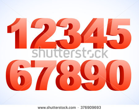 Numbers 1 to 10 clipart graphic freeuse library 3d Number 1 Stock Images, Royalty-Free Images & Vectors | Shutterstock graphic freeuse library