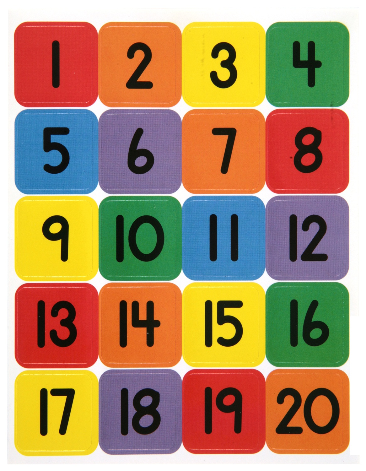 Numbers clipart 1 20 svg free Free Printable Numbers 1 20 - Laptuoso svg free