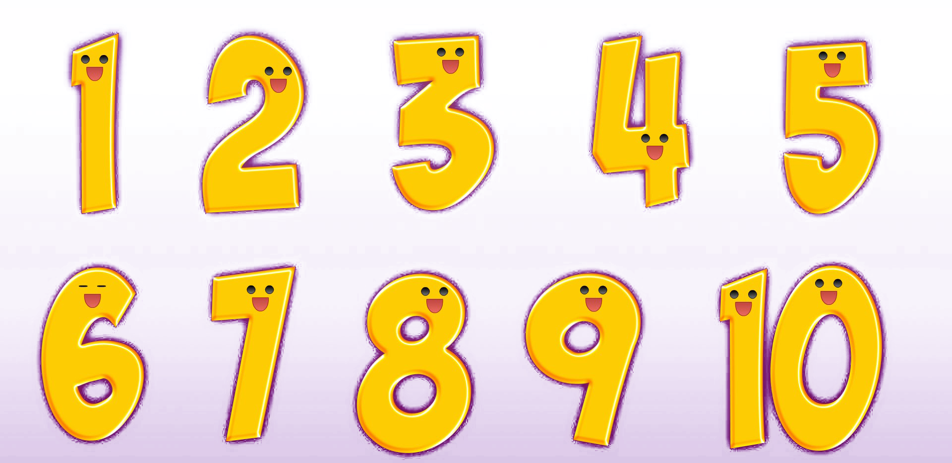Numbers clipart 1 5 svg library download 1 to 10 Numbers PNG Transparent Images | PNG All svg library download