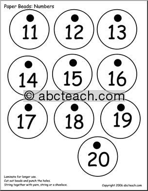 Numbers clipart 11 20 clip art black and white stock Numbers Clipart 11-20 - clipartsgram.com clip art black and white stock