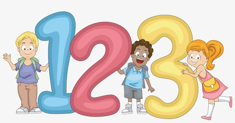 Numbers clipart 123 vector freeuse stock Number Clipart For Kid Png - 123 Clipart Png Transparent PNG ... vector freeuse stock