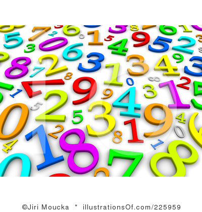 Numbers clipart clipart royalty free Numbers Clip Art | Clipart Panda - Free Clipart Images clipart royalty free