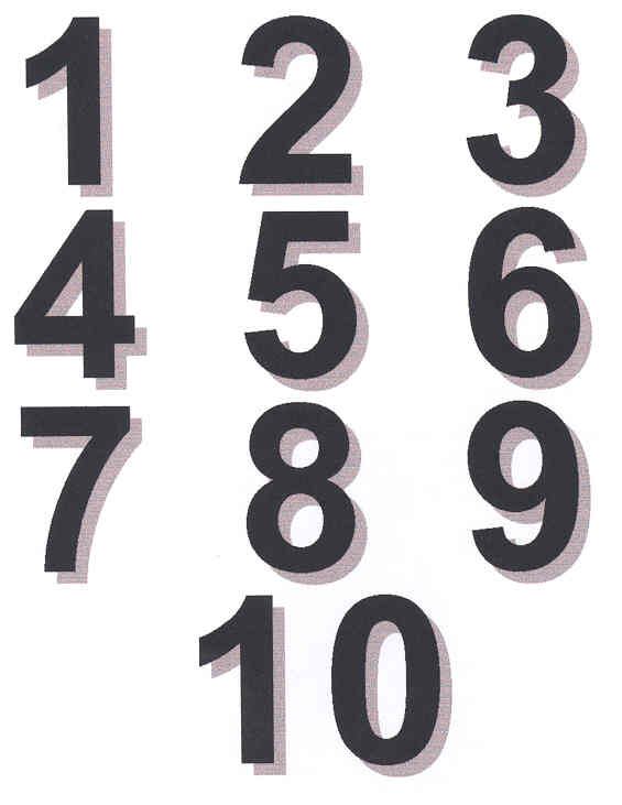Numbers clipart black image black and white download Free Numbers 1-10 Cliparts, Download Free Clip Art, Free ... image black and white download