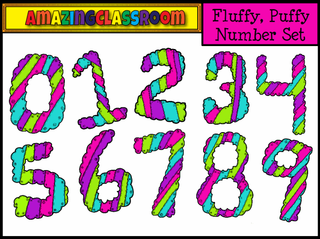 Numbers clipart pack clip art library download Interactive Whiteboard Resource Packs - Clipart ... clip art library download