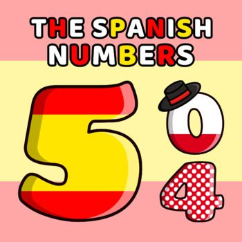 Numbers in spanish clipart clip black and white download Spanish Numbers Clipart | Free Clipart -- QUALITY Clipart ... clip black and white download