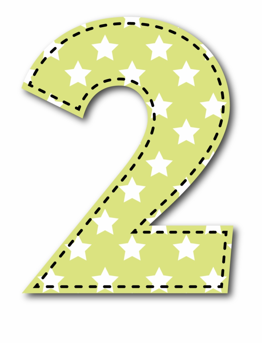 Numero 2 clipart svg freeuse 2 Número - Number 2 Clipart For Kids Free PNG Images ... svg freeuse
